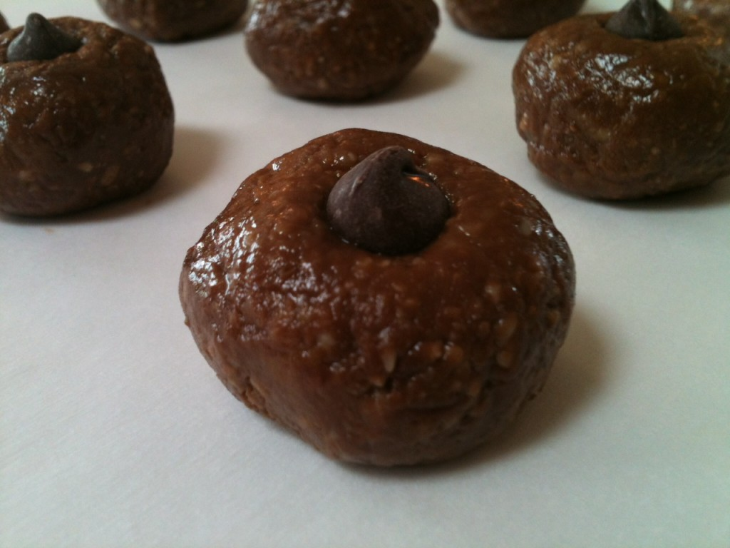 Chocolate Chip Cookie Dough Bites - The Fit Cookie