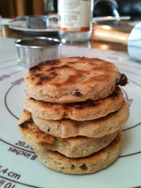 Gluten-Free Raisin Griddle Cookies (welsh cookies) - TheFitCookie