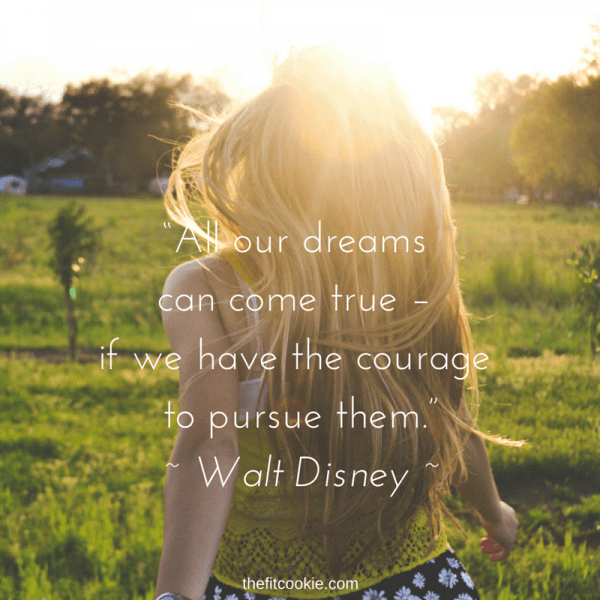 Walt Disney Quote | Some days we just need a bit of wisdom to get us through rough days! Here are 18 of my favorite meaningful quotes to help you get your mind right to finish your day strong - @TheFitCookie #motivation #quotes