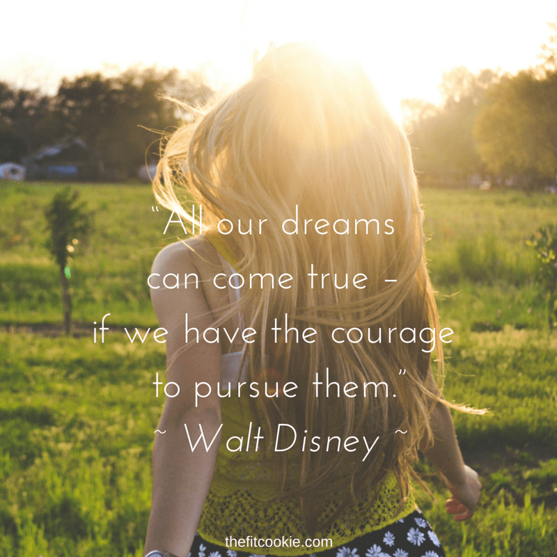 Dreams - #quote #life @TheFitCookie