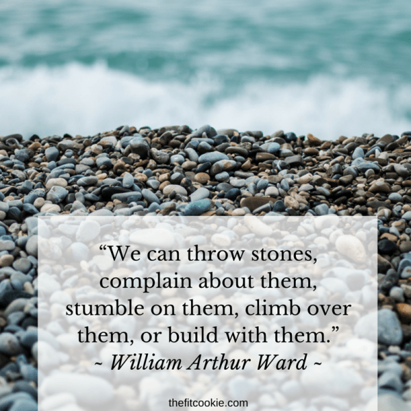 William Arthur Ward Quote | Some days we just need a bit of wisdom to get us through rough days! Here are 18 of my favorite meaningful quotes to help you get your mind right to finish your day strong - @TheFitCookie #motivation #quotes