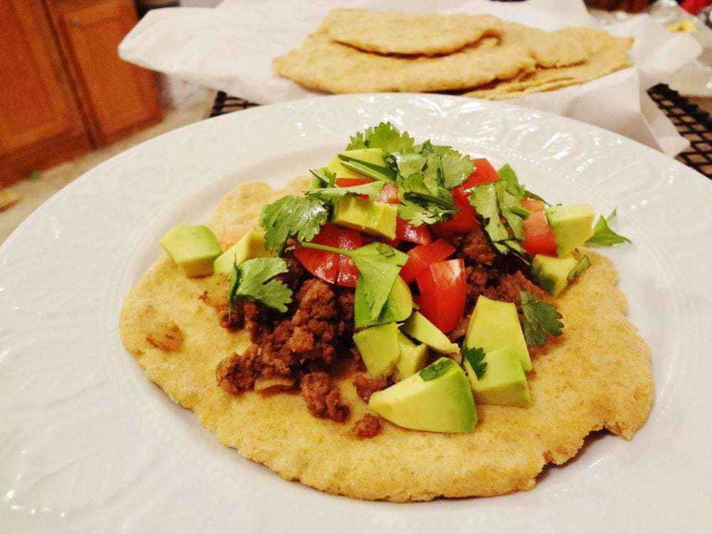 Quick and Healthy Beef Soft Tacos
