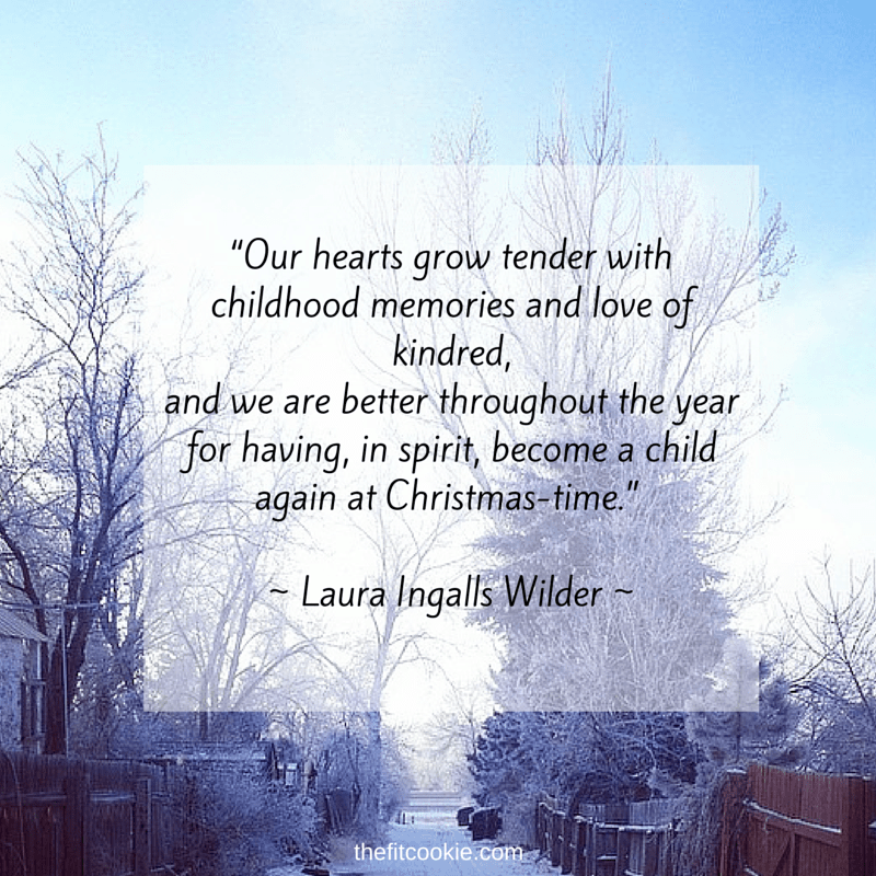 Christmas - #quote #life @TheFitCookie