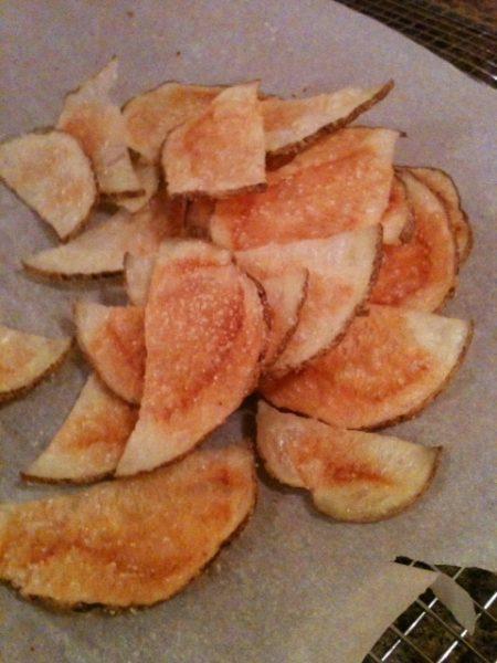 Skinny Potato Chips
