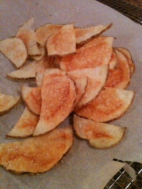Healthy (and Quick!) Potato Chips