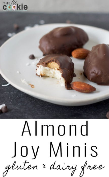 Almond Joy Minis (and Mounds Minis)