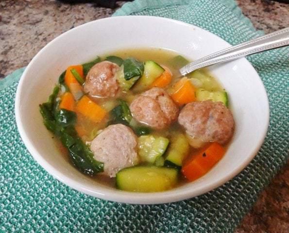 Simple Italian Wedding Soup (Paleo)
