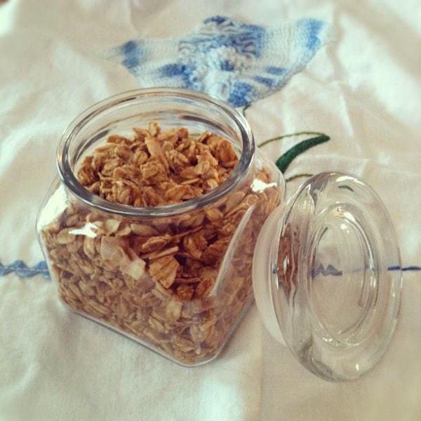 Maple SunButter Granola (Gluten and Dairy Free)