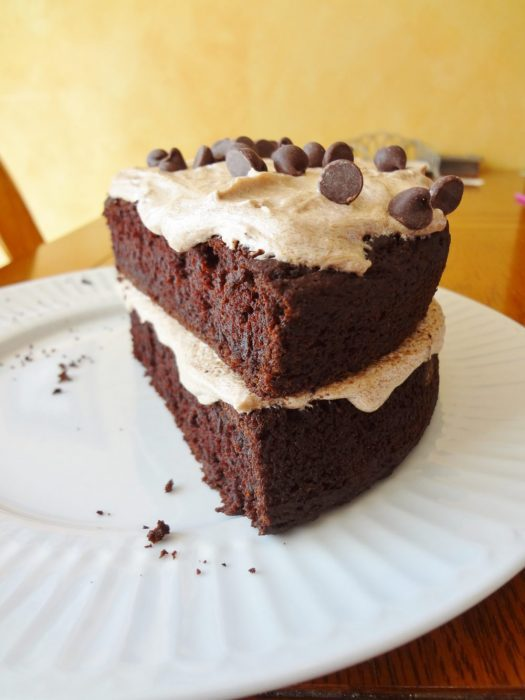 Mocha Chocolate Cake with Mocha Buttercream Frosting