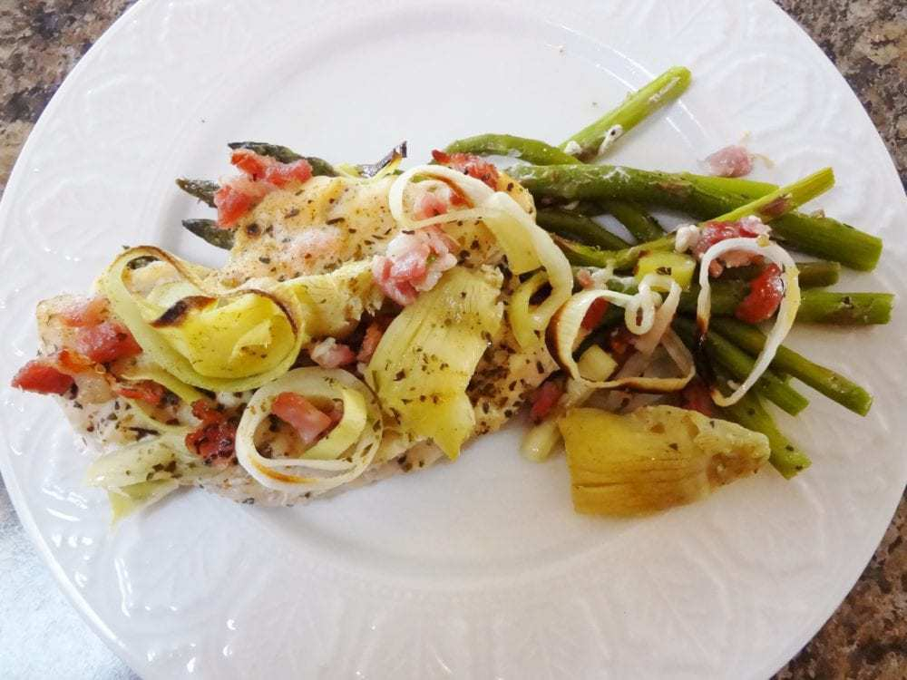 Italian Artichoke Chicken With Asparagus Paleo The Fit Cookie