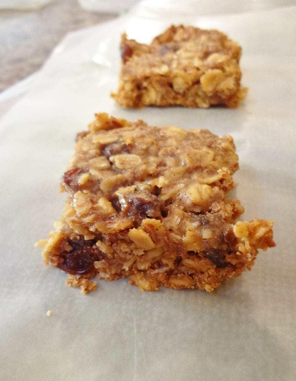 Whole Grain Muesli Bars • The Fit Cookie