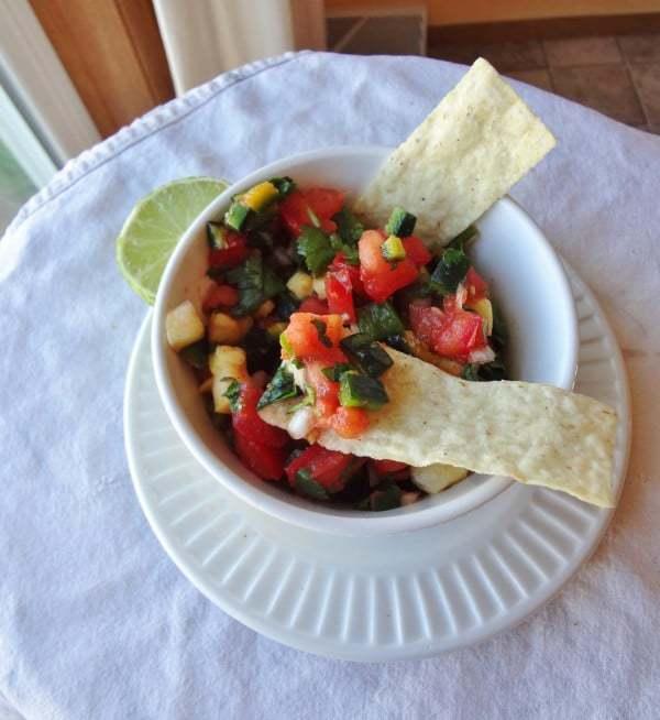 Fresh Poblano Salsa