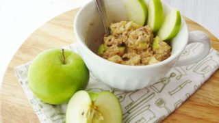 Apple Cinnamon Breakfast Bowl (Gluten Free and Vegan)