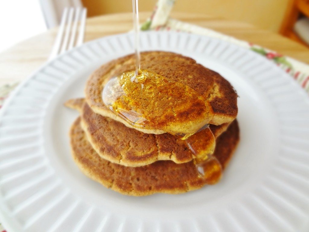 Single serving protein pancakes the fit cookie add some protein to your breakfast without eggs make these single serving protein pancakes ccuart Choice Image