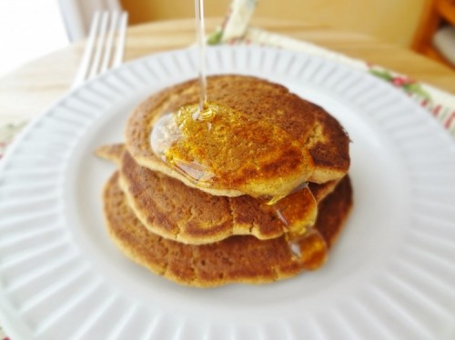 Single-Serving Protein Pancakes