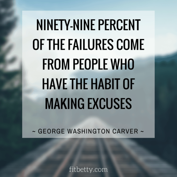 George Washington Carver Quote | Some days we just need a bit of wisdom to get us through rough days! Here are 18 of my favorite meaningful quotes to help you get your mind right to finish your day strong - @TheFitCookie #motivation #quotes