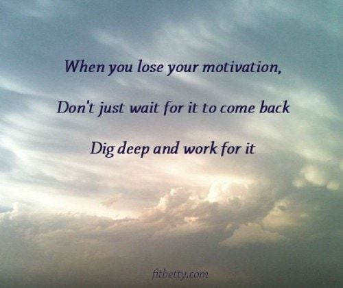 Is Motivation Overrated?