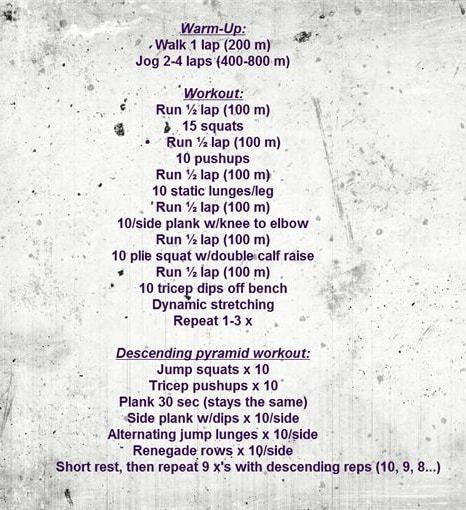 Metabolic Conditioning Workout