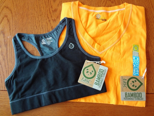 Check out new performance fabrics made with bamboo! Here is my review of the Tasc Performance fitness and lifestyle clothing that is soft and breathable