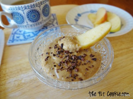 Protein Cookie Dough Dip (Gluten Free and Vegan)