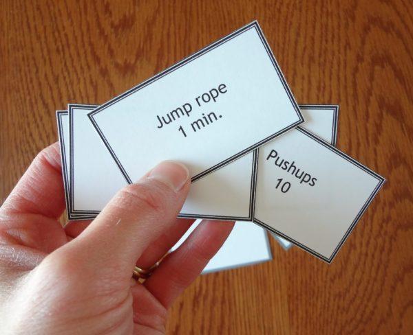 Workout Card Shuffle