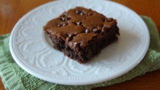 Gluten Free and Vegan Fudgy Chocolate Cake (Puddle Cake)