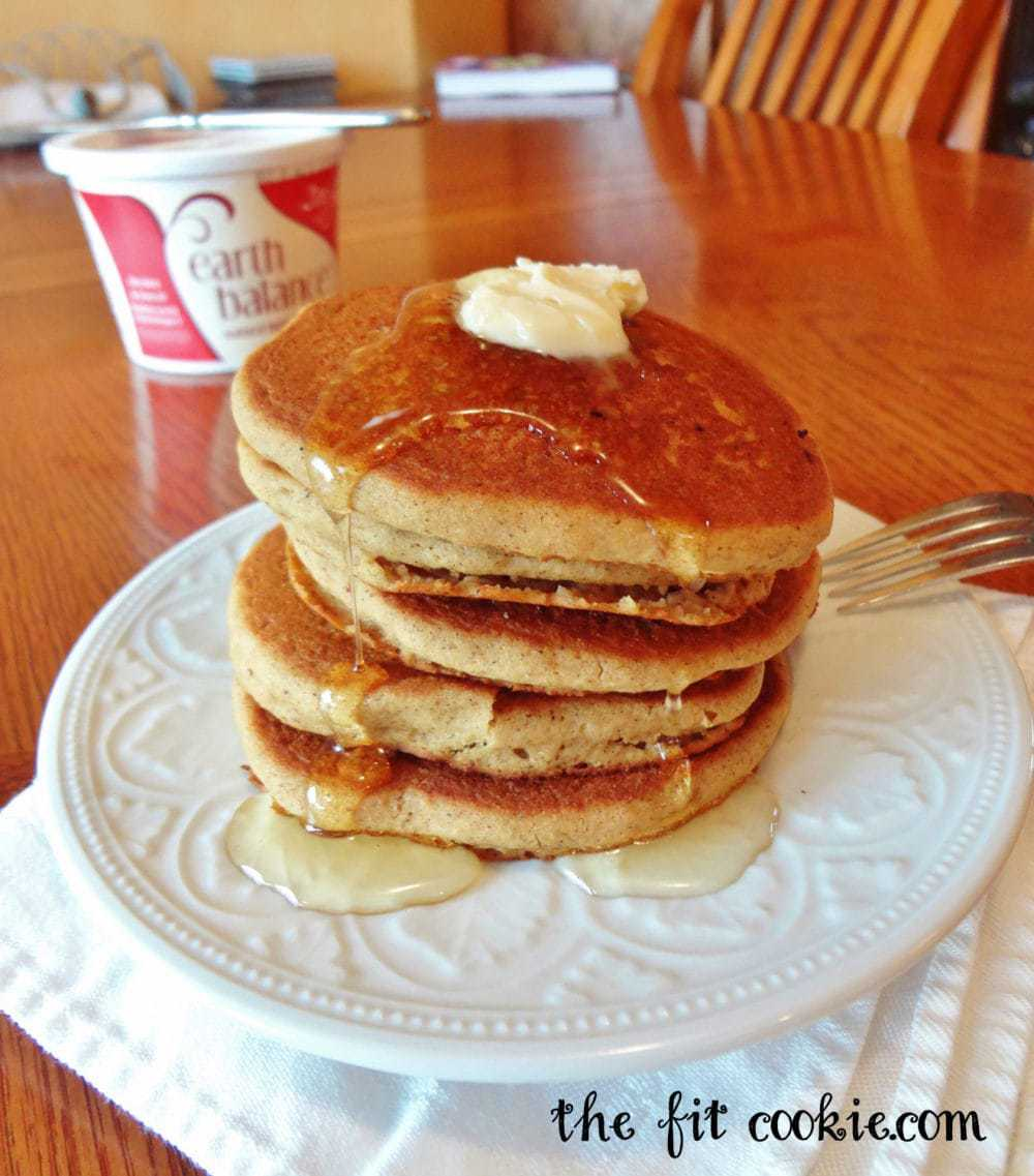 Gluten-Free Gingerbread Pancakes • The Fit Cookie