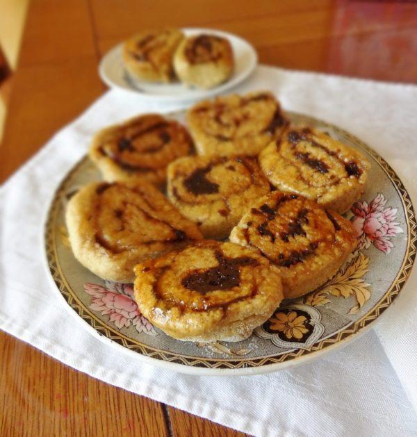 Yeast-Free Sticky Cinnamon Rolls