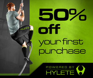 50% off your first order with Hylete
