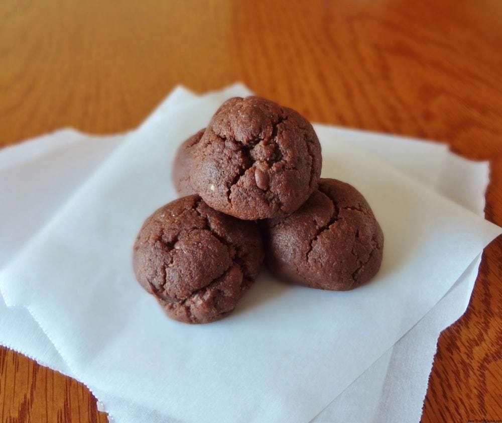 Gluten Free Fudge Cookies (Vegan)