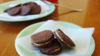 Gluten Free Oreo Cookies with Coconut Sugar Cream