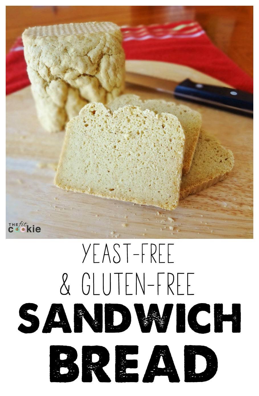 Gluten-free and Yeast-Free Sandwich Bread - @TheFitCookie #recipe #glutenfree #bread #yeastfree