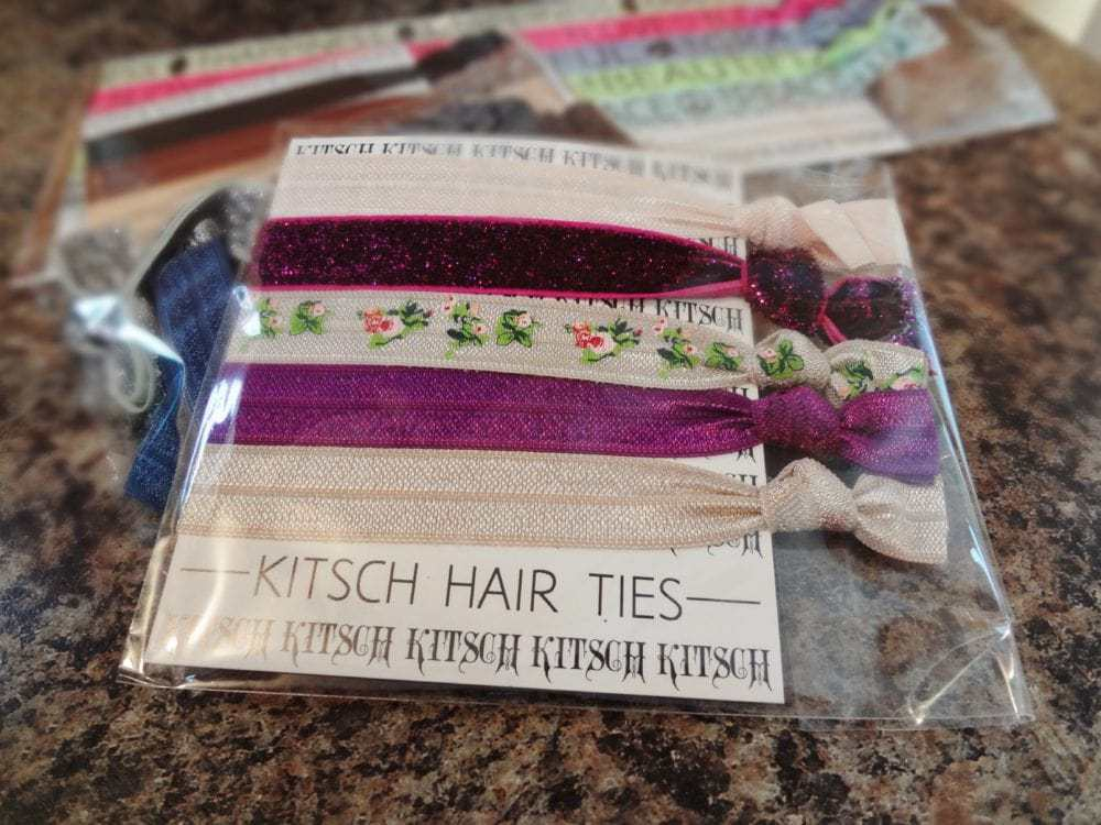 Kitsch headbands and hair ties