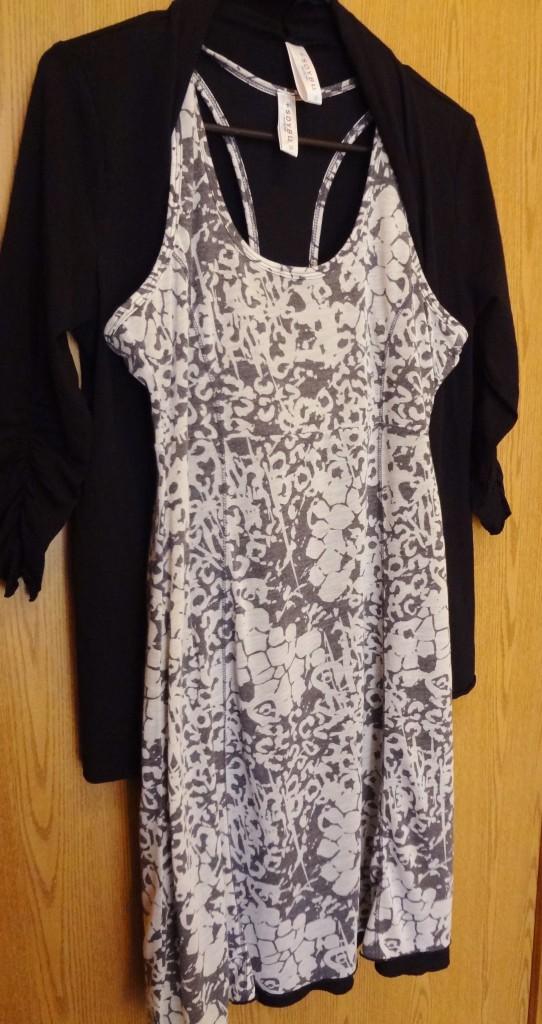 Soybu Clothing: Ananda Dress and Ebb & Flow wrap