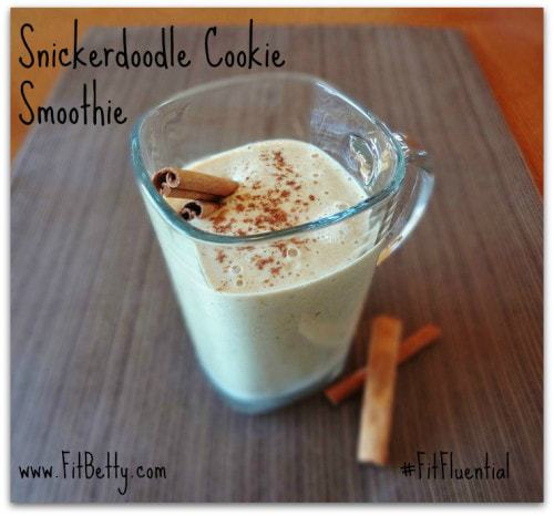 Snickerdoodle Cookie Smoothie