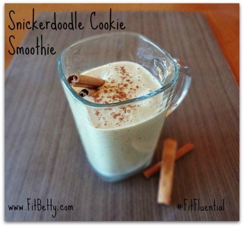 Snickerdoodle Cookie Smoothie (Gluten Free and Vegan)