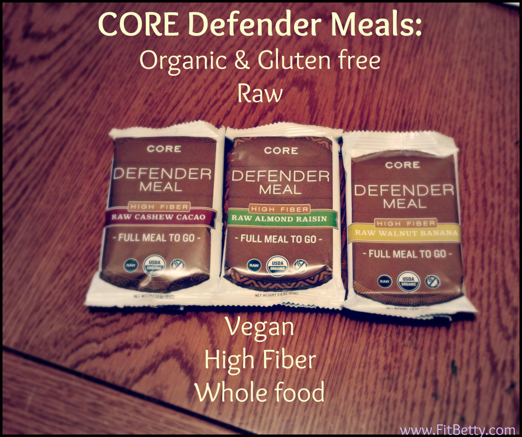Core Meals Infographic
