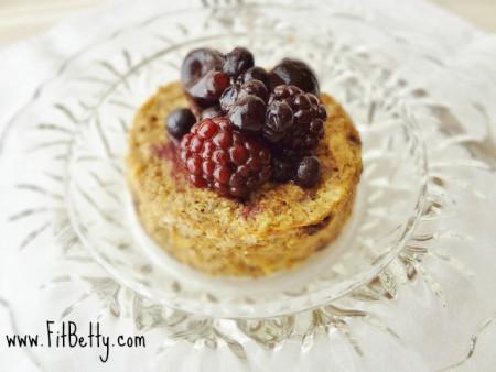Oatmeal Raisin Microwave muffin
