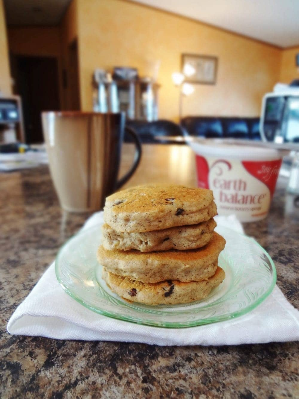 Oatmeal Raisin Pancakes • The Fit Cookie