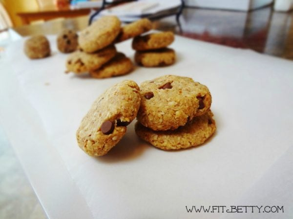 Grain-Free Mini Chip Cookies – 2 Ways