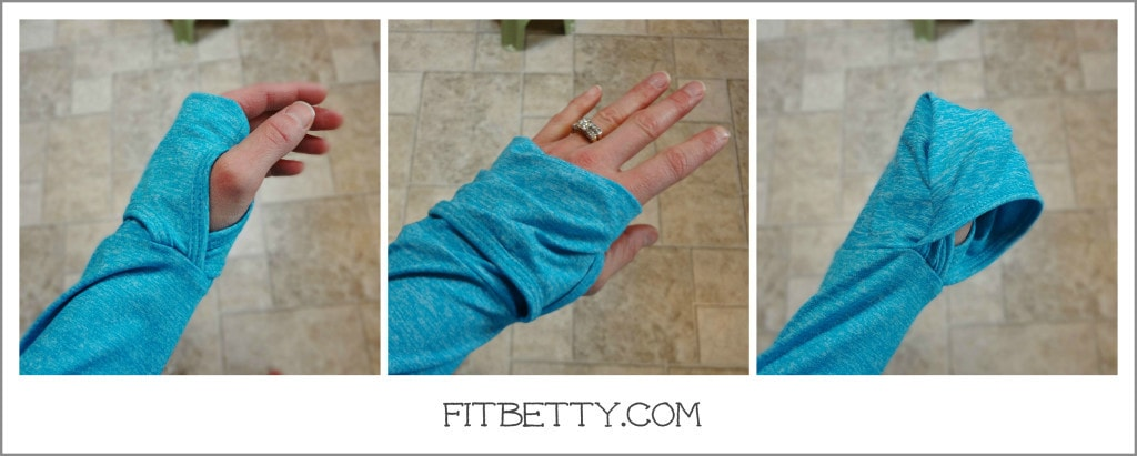 Ellie - Thumbholes and hand covers