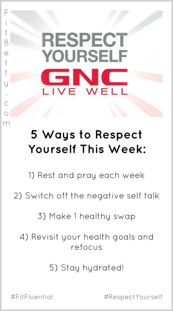 GNC Respect Yourself