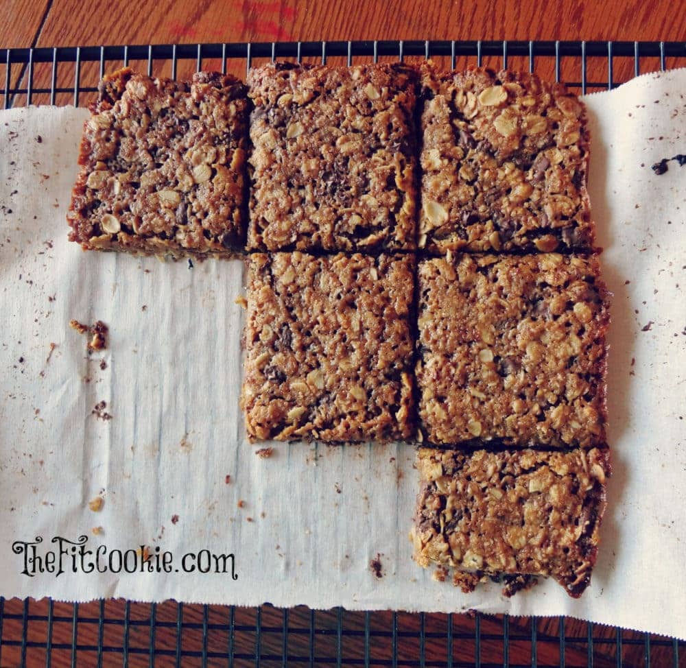 World's Best Gluten-Free Granola Bars - The Fit Cookie