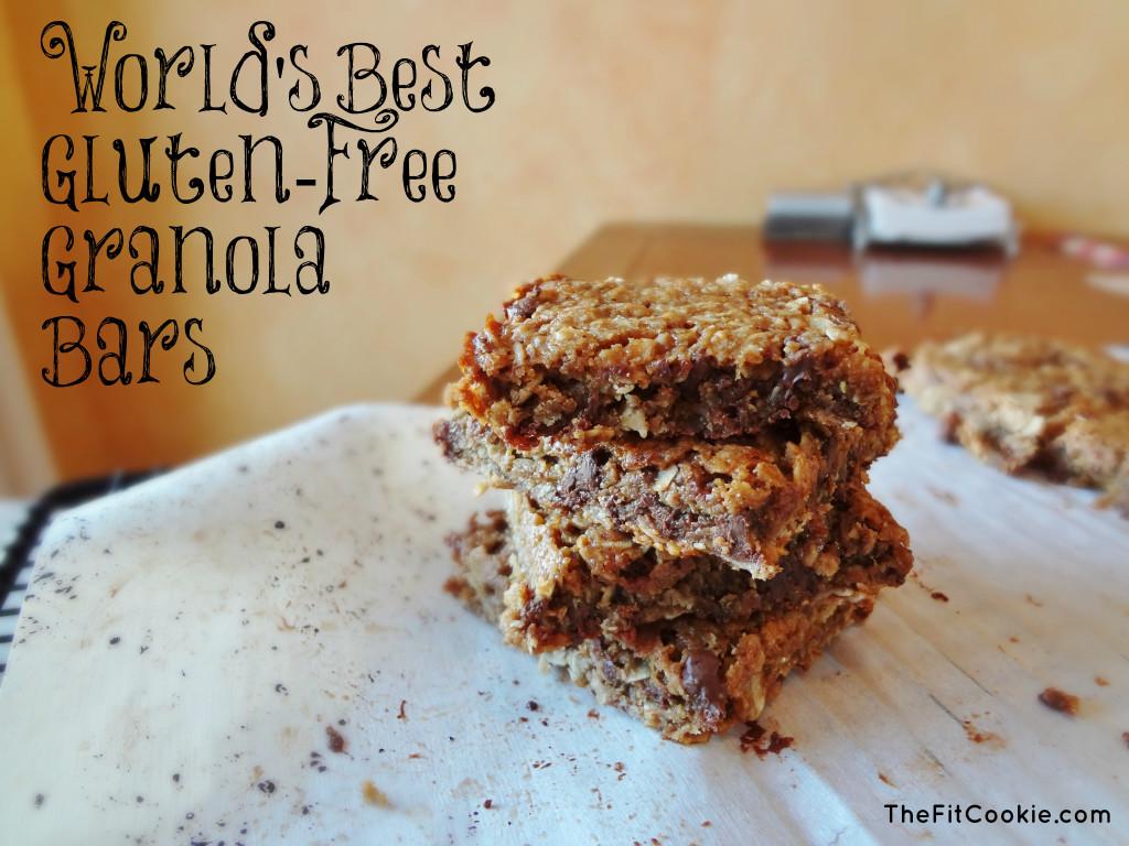 World's Best Gluten-Free Granola Bars - TheFitCookie.com