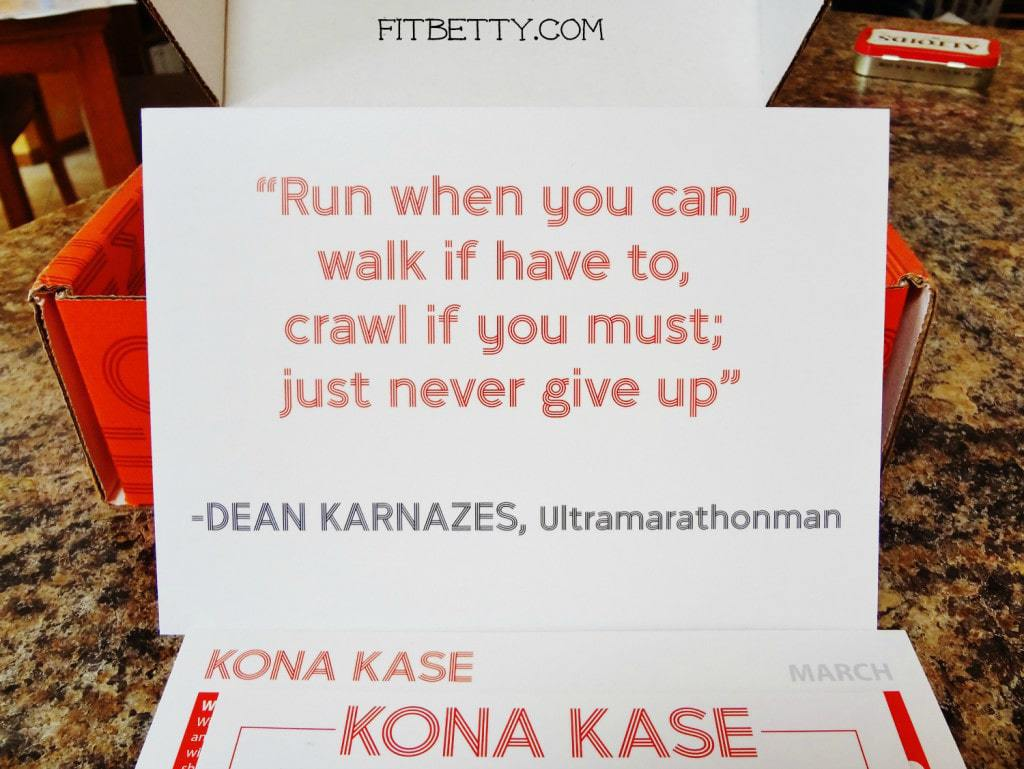Kona Kase Quote