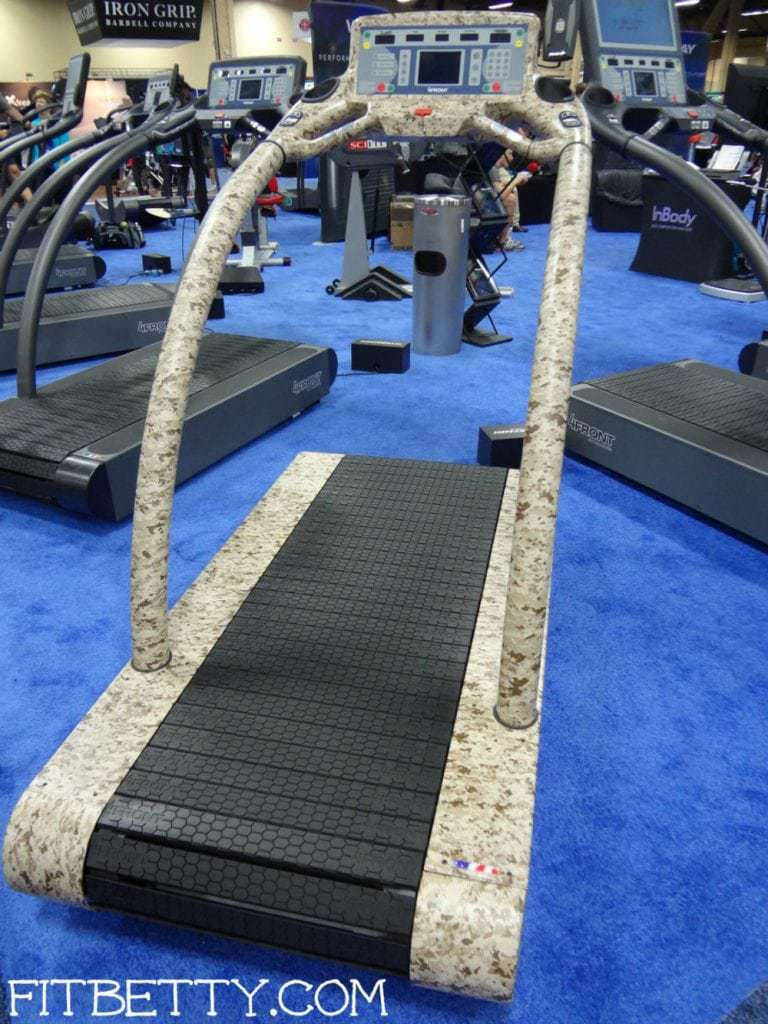 No deck and no belt on this tough as nails treadmill!