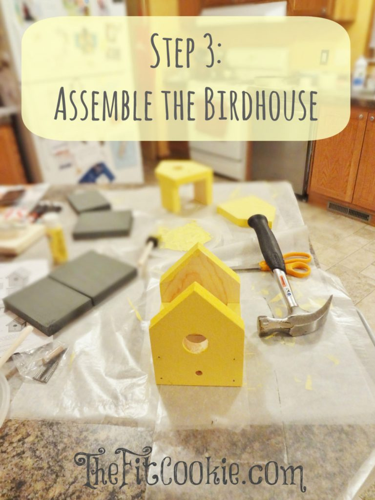 Birdhouse Kit - Step 3