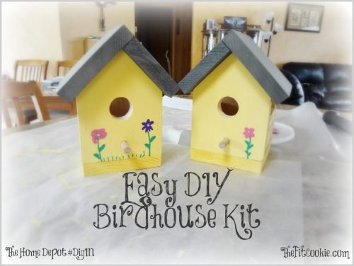 Easy DIY Birdhouse Kit from The Home Depot