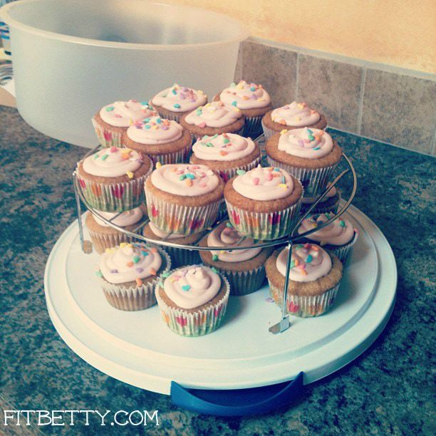 Home-made cupcakes