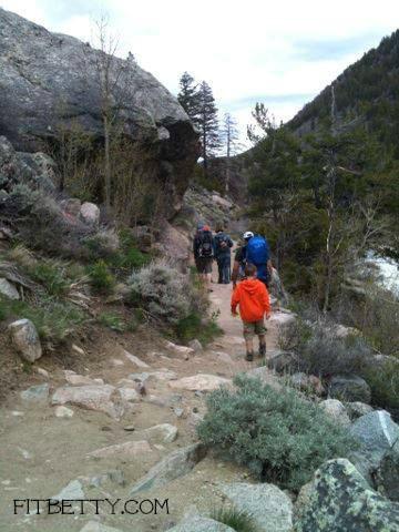 Hiking in Lander, WY